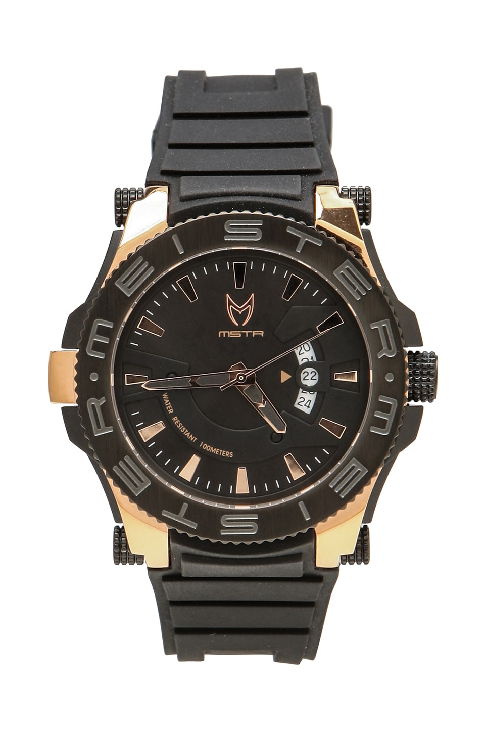 Meister Prodigy in Black/Rose Gold