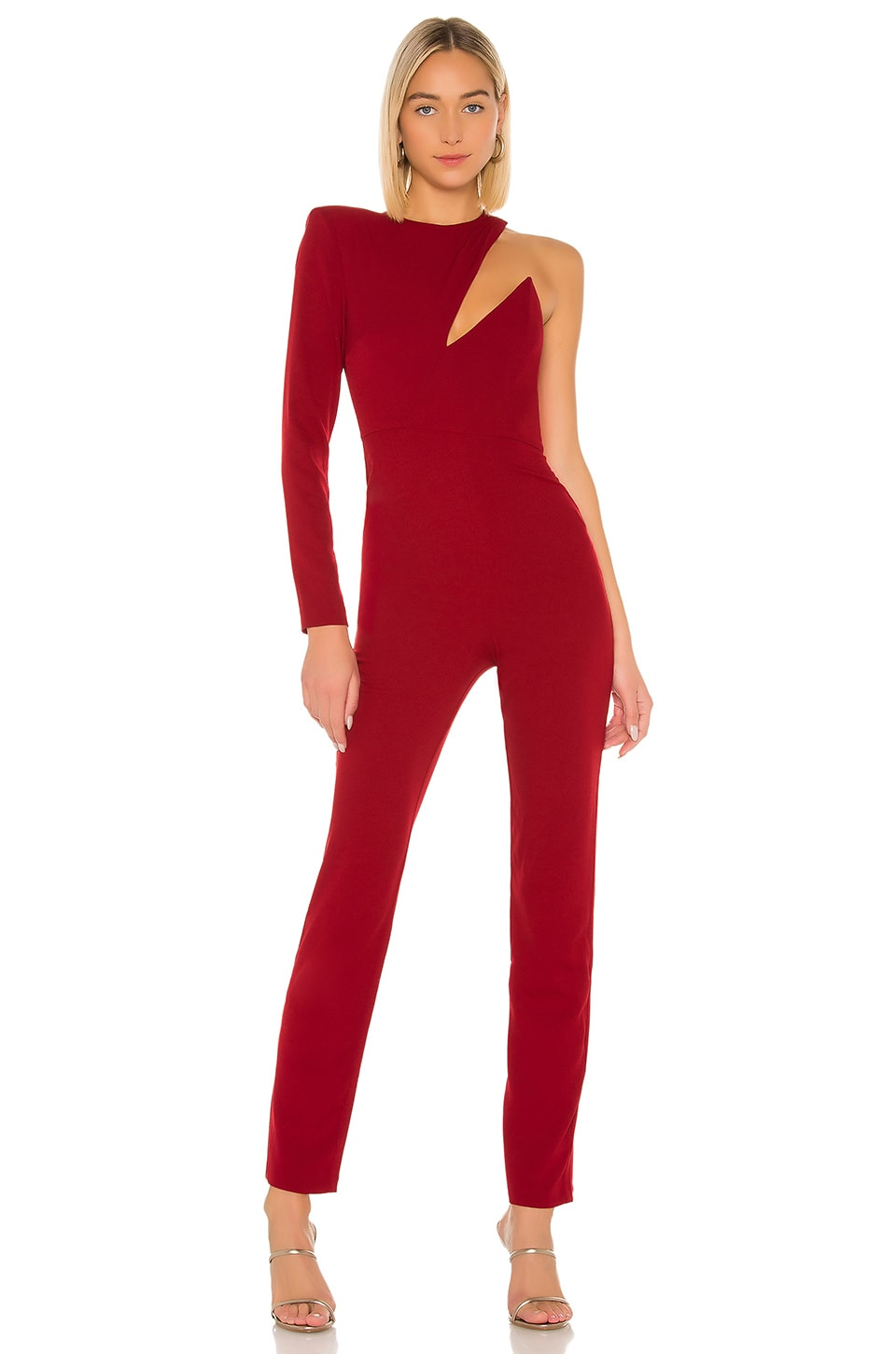 Michael Costello x REVOLVE Haven Jumpsuit in Deep Red