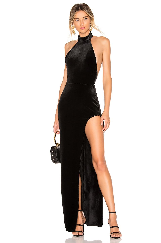 Michael Costello x REVOLVE Penelope Gown in Black