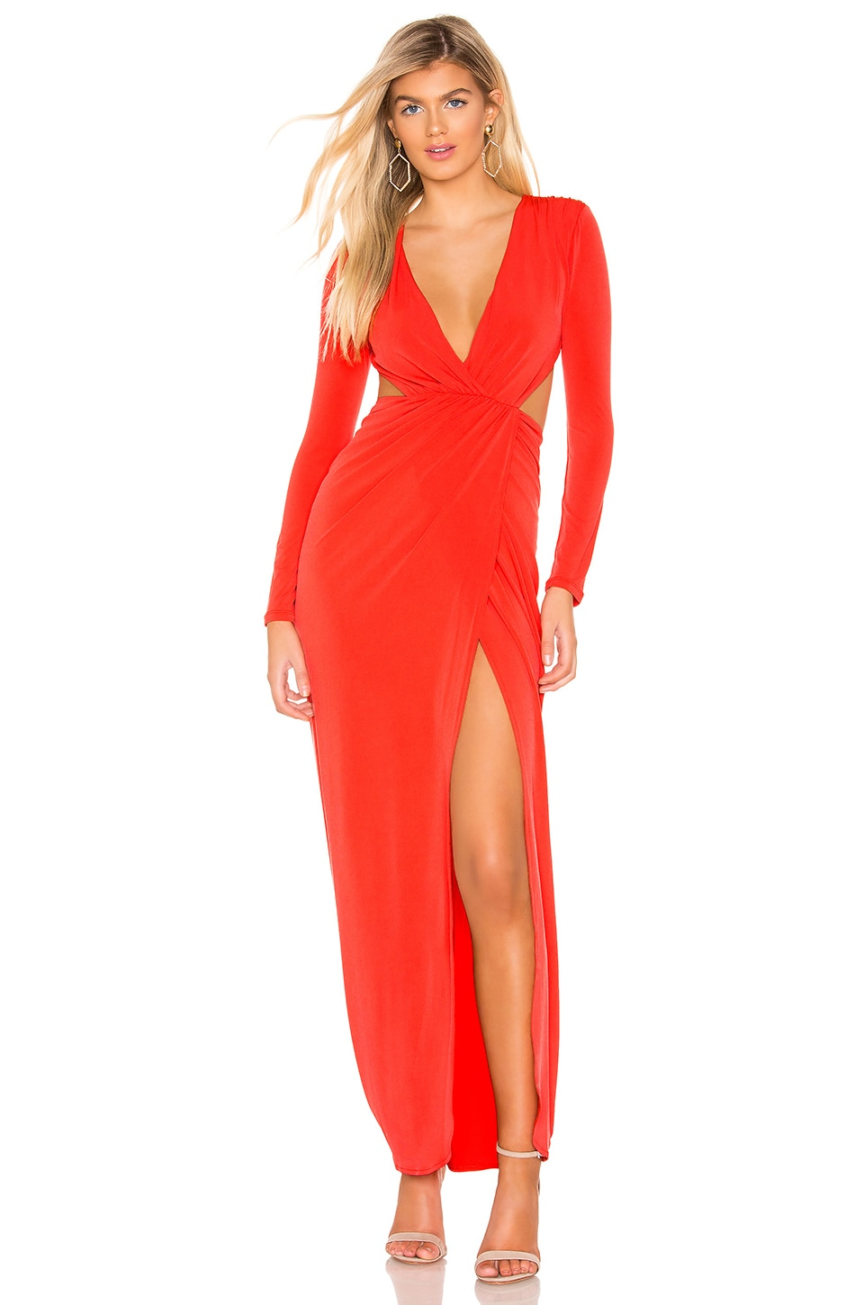 Michael Costello VESTIDO DARCY