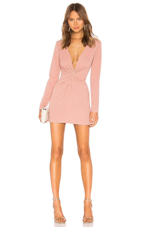 Michael Costello X REVOLVE Marlene Dress in Blush