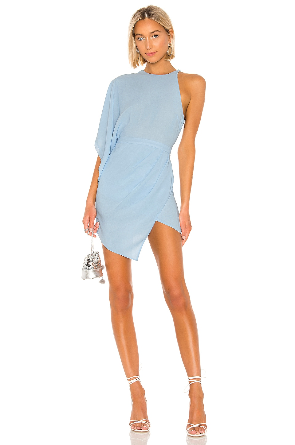 Michael Costello x REVOLVE Lexa Dress in Light Blue