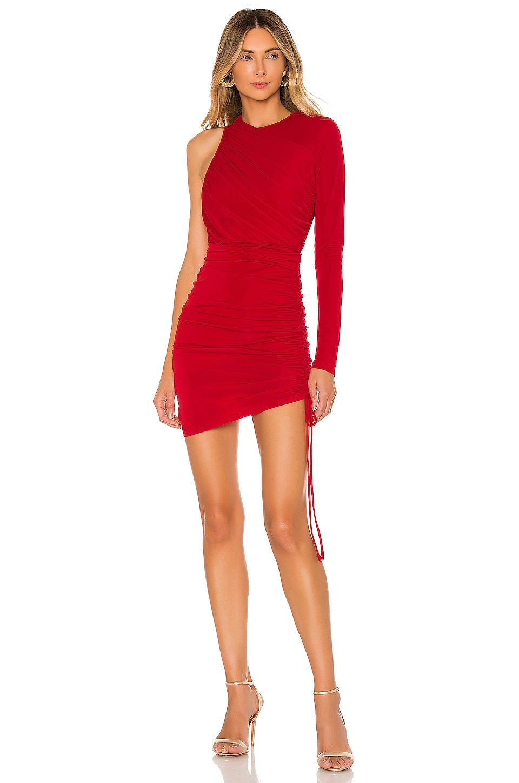 Michael Costello x REVOLVE Farrah Mini Dress in Red