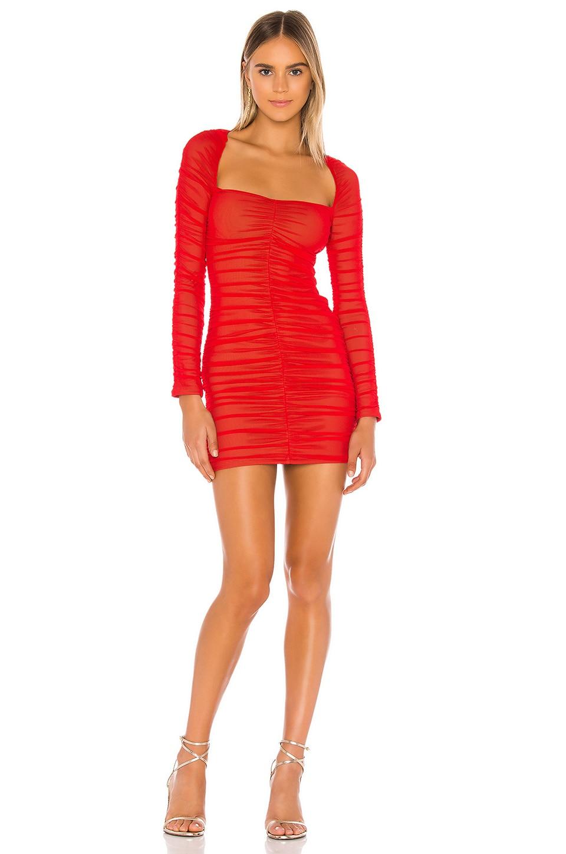 Michael Costello x REVOLVE Franky Mini Dress in Red