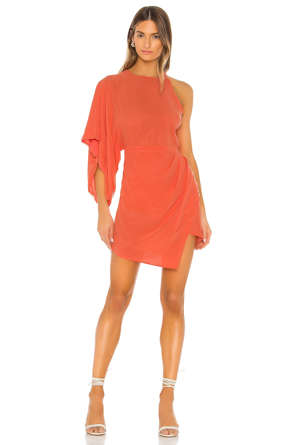 Michael Costello x REVOLVE Lexa Dress in Coral