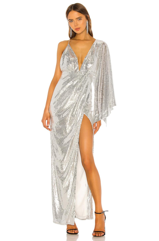 Michael Costello x REVOLVE Tina Gown in Silver
