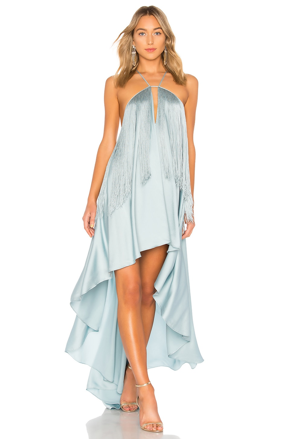 Michael Costello x REVOLVE Generosity Dress in Seafoam
