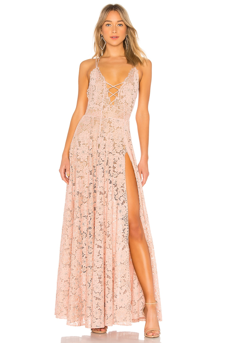 MICHAEL COSTELLO X REVOLVE VICTORY GOWN