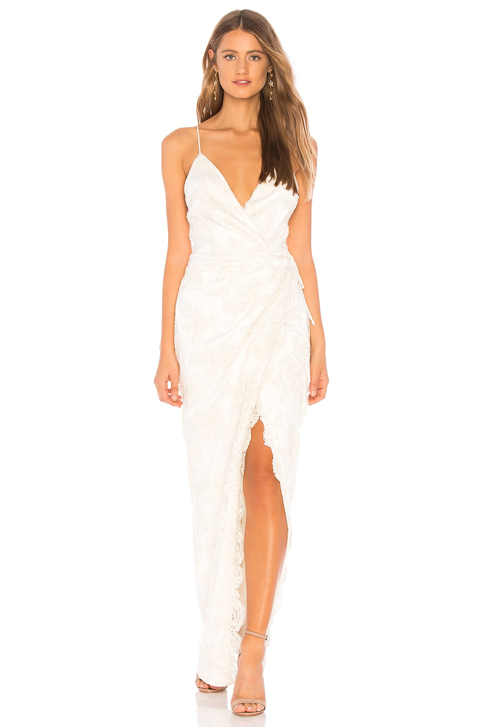 Michael Costello x REVOLVE Adeline Gown in Ivory