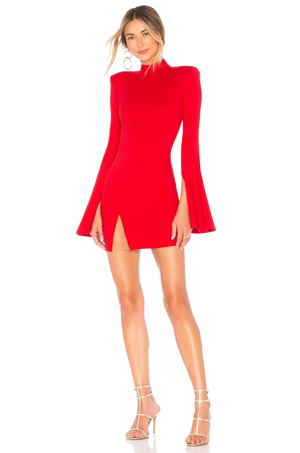 Michael Costello x REVOLVE Mr. Gibson Mini Dress in Red