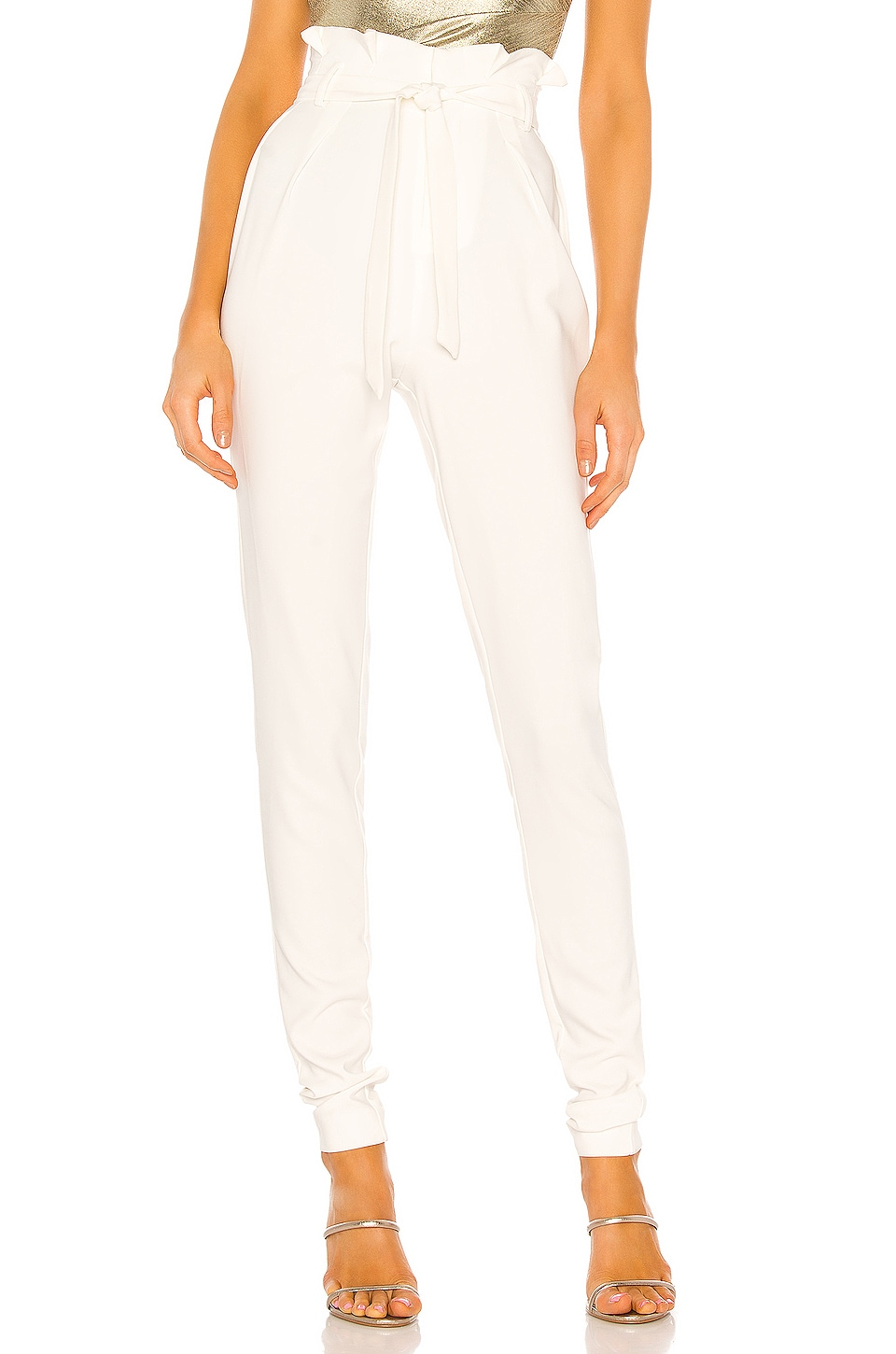 Michael Costello x REVOLVE Perry Pant in Ivory