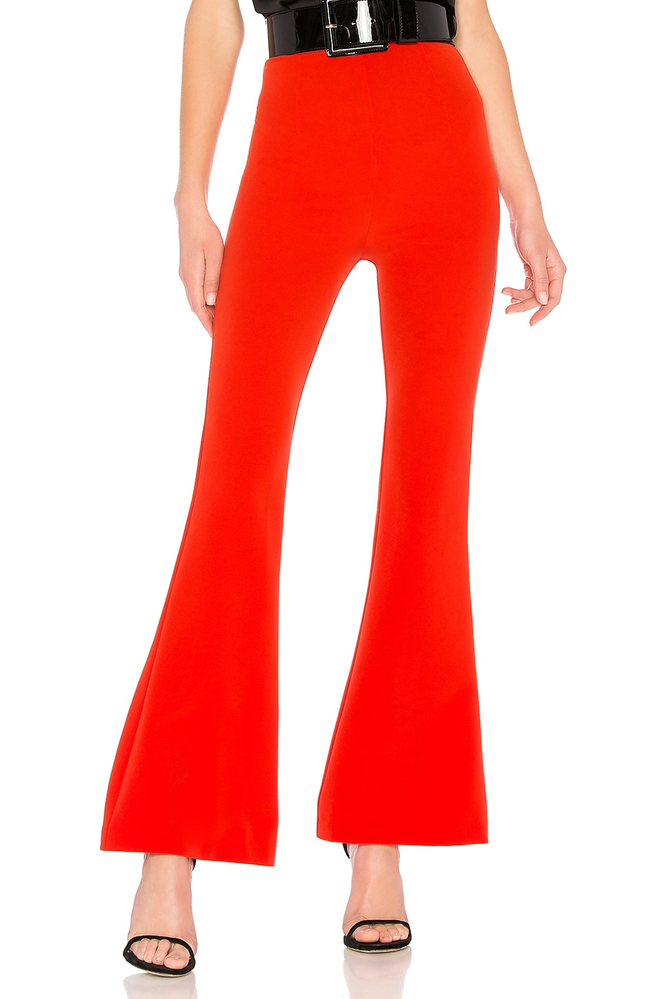 Michael Costello x REVOLVE Margeaux Pant in Red