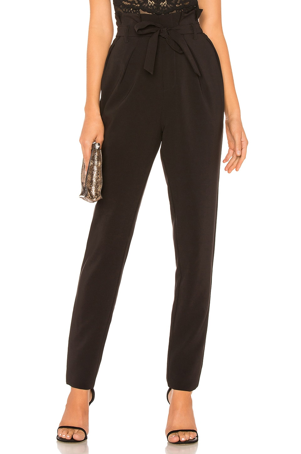 Michael Costello x REVOLVE Perry Pant in Black