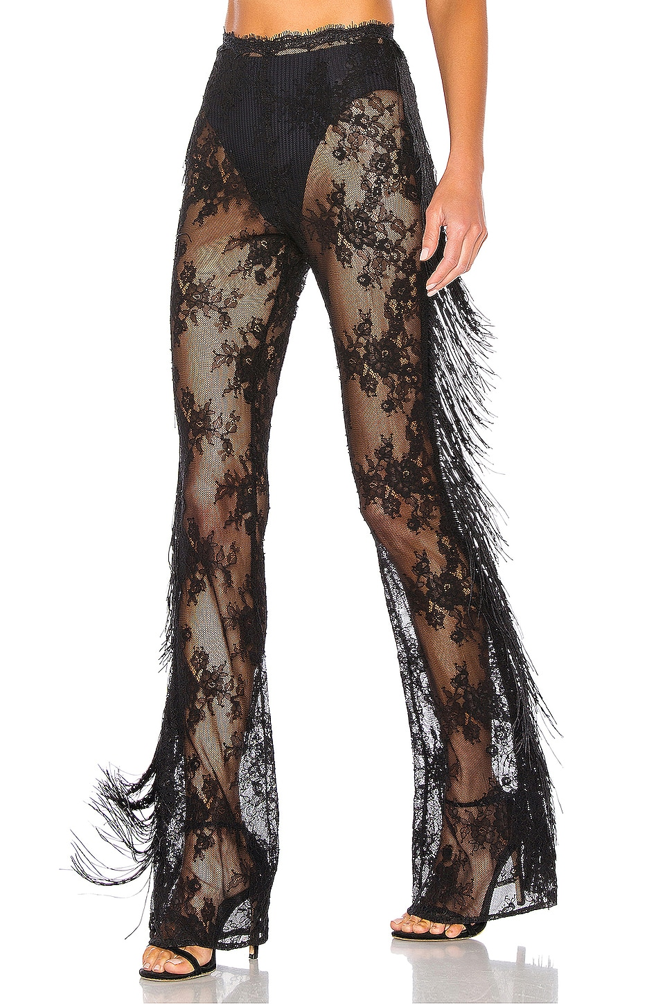 Michael Costello x REVOLVE Freedom Pant in Black