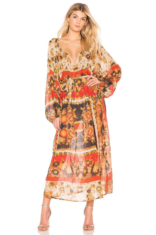 Matrioshka Maxi Dress