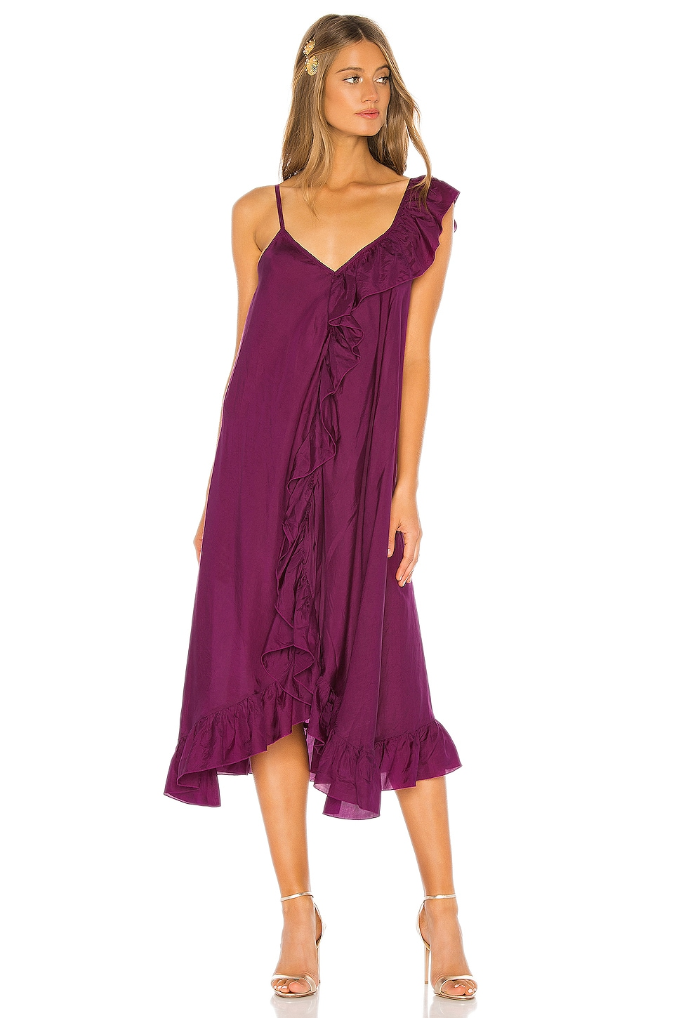 Mes Demoiselles Noemie Dress in Purple