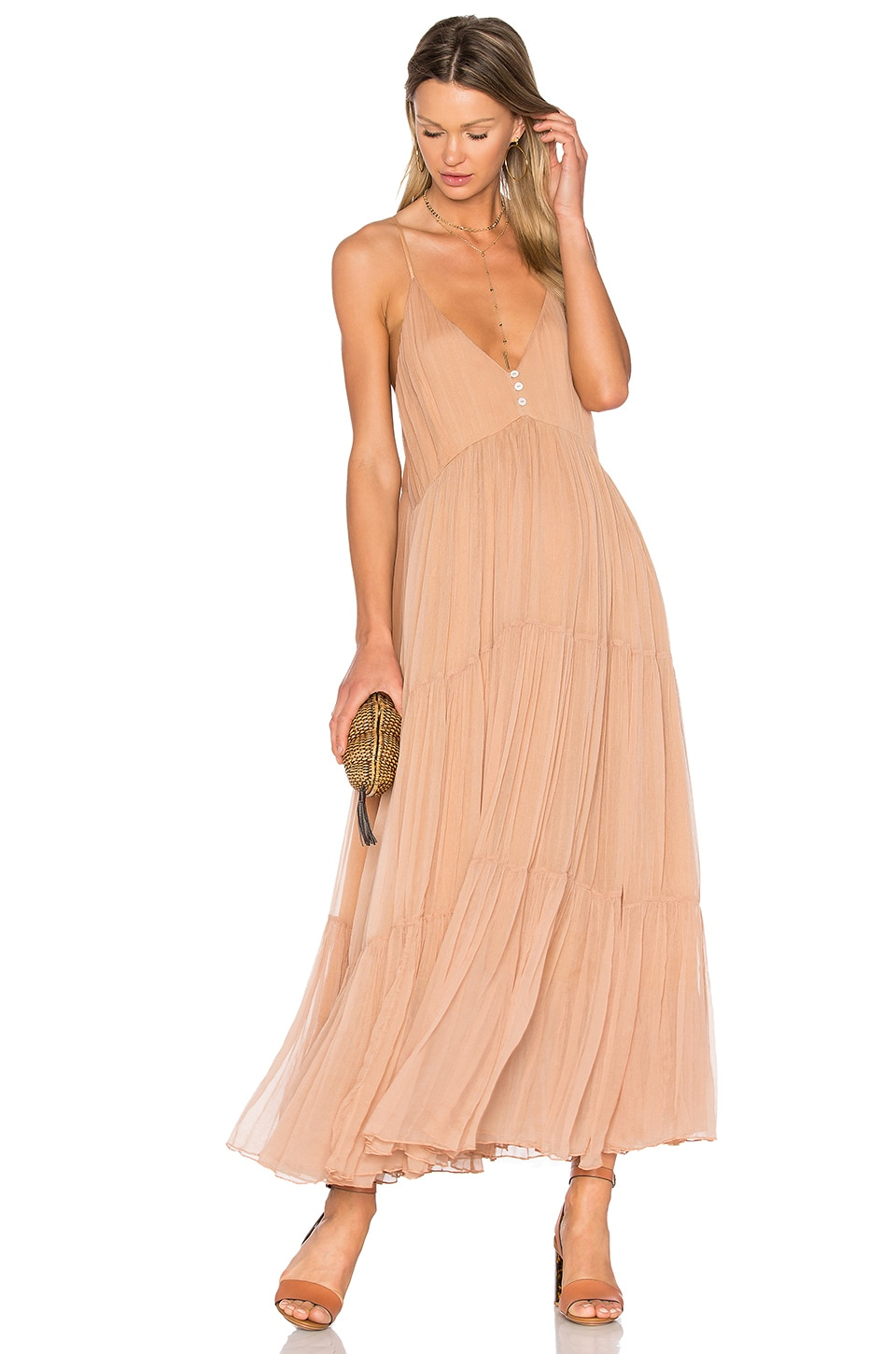 Mes Demoiselles Celeste Dress in Nude