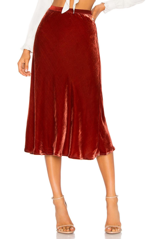 Martina Velvet Skirt