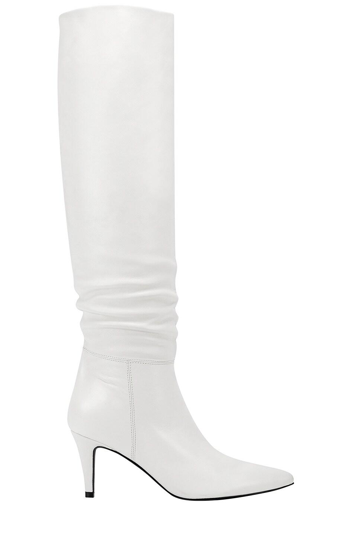 Marc Fisher X Elizabeth Sulcer Ginnie Boot in Chic Cream