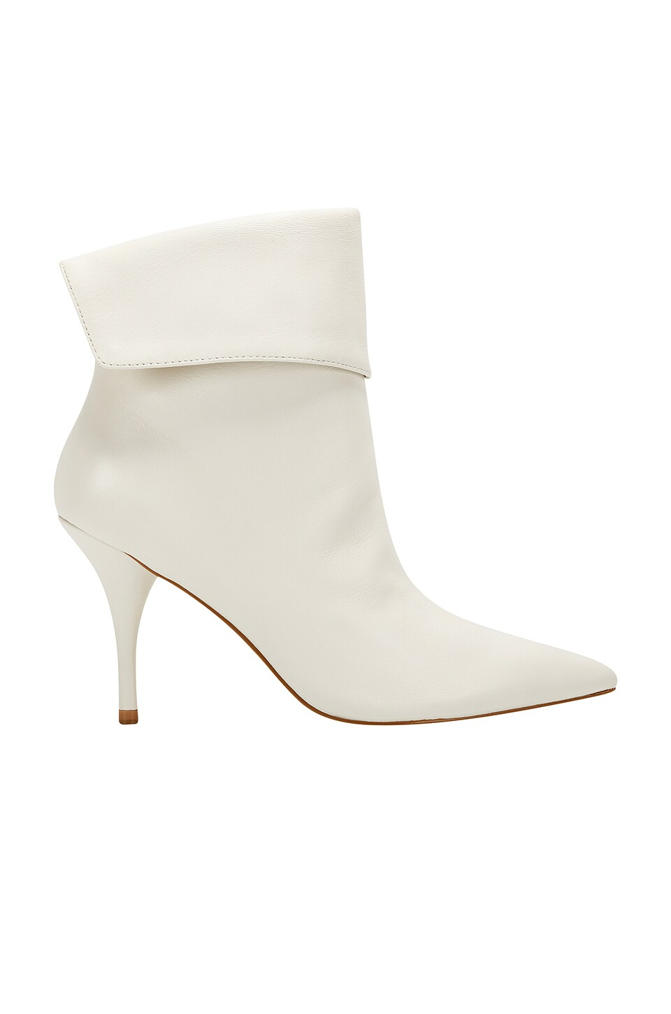 Marc Fisher X Elizabeth Sulcer Fifi Bootie in White Leather