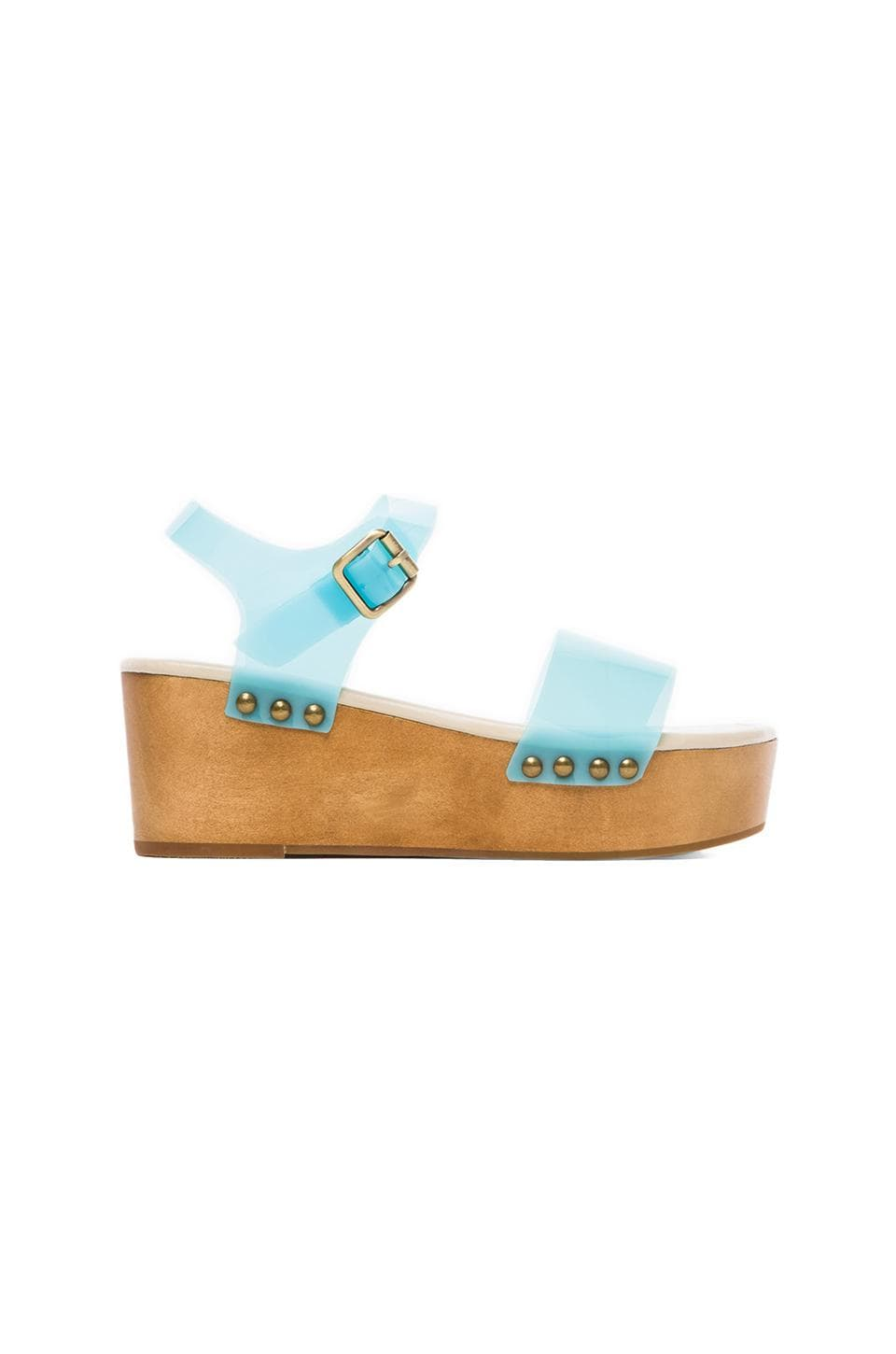 MADISON HARDING Dorothy Sandal in Blue