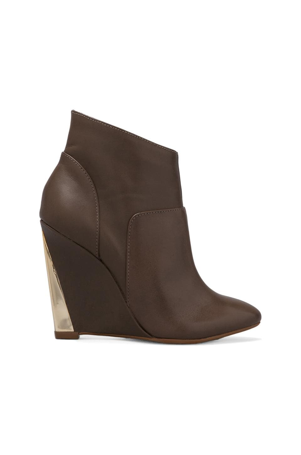 MADISON HARDING Debra Wedge Bootie in Oliva