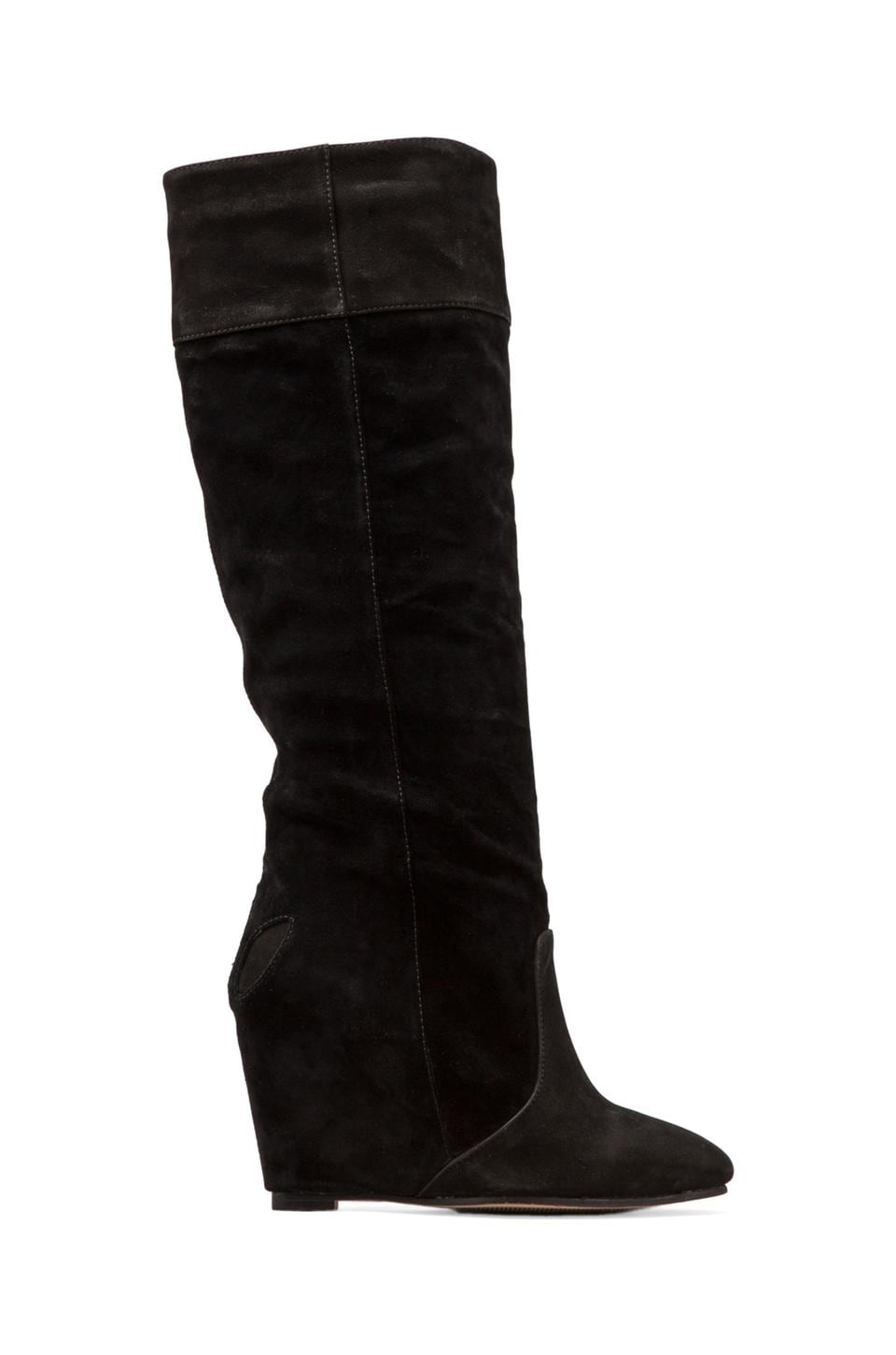 MADISON HARDING Debreul Knee-High Boot in Black