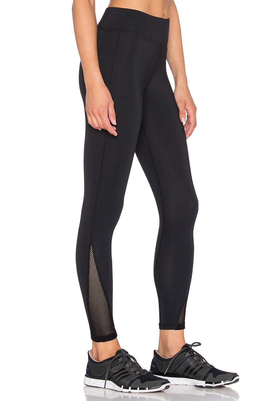 MICHI Vyper Crop Legging in Black