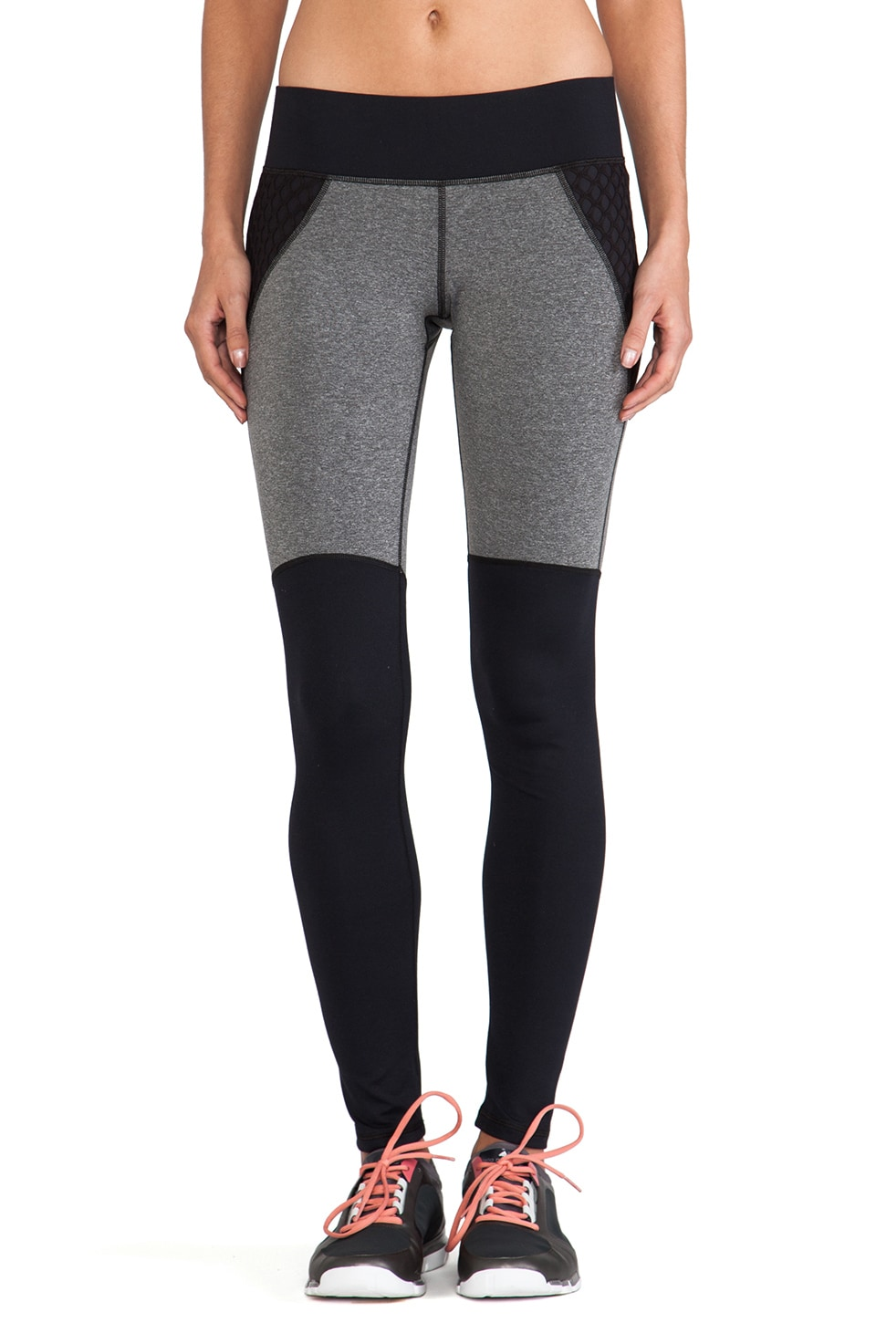MICHI Shadow Legging in Black