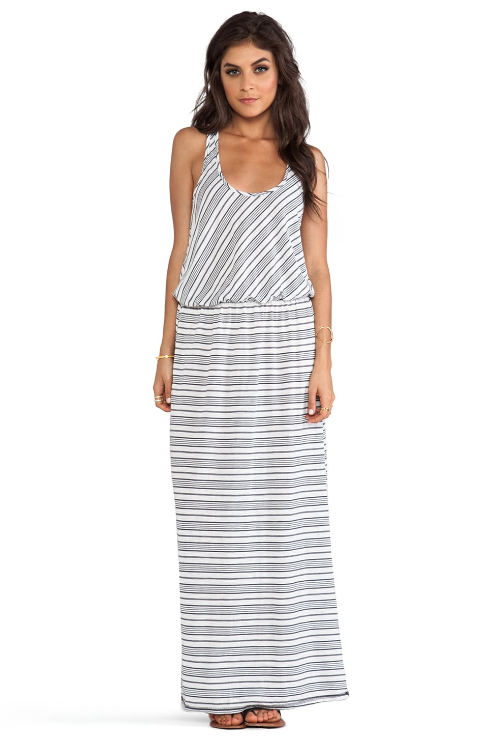 Michael Stars Sleeveless Racer Back Maxi Dress in Oxide