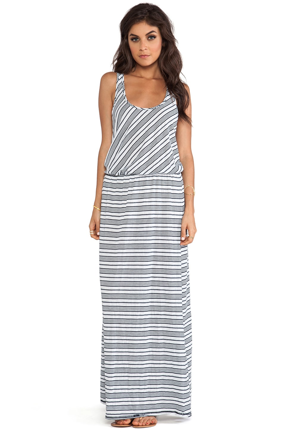 Michael Stars Sleeveless Racer Back Maxi Dress in Ship