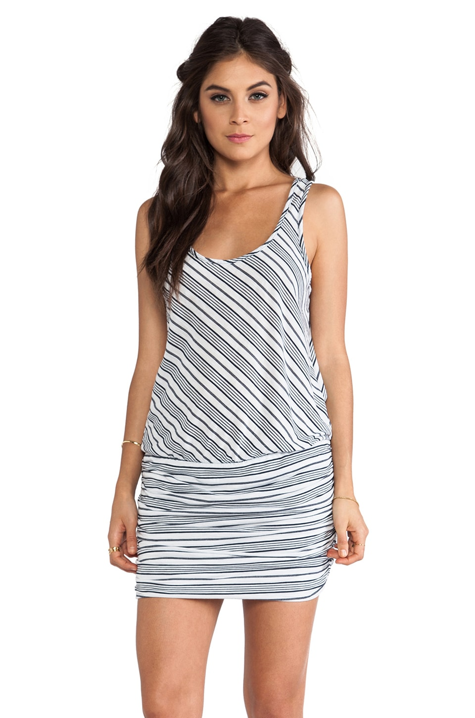 Michael Stars Sleeveless Racer Back Dress in Ship