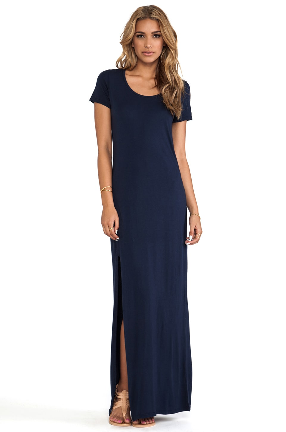 Michael Stars Tee Shirt Maxi Dress in Ship