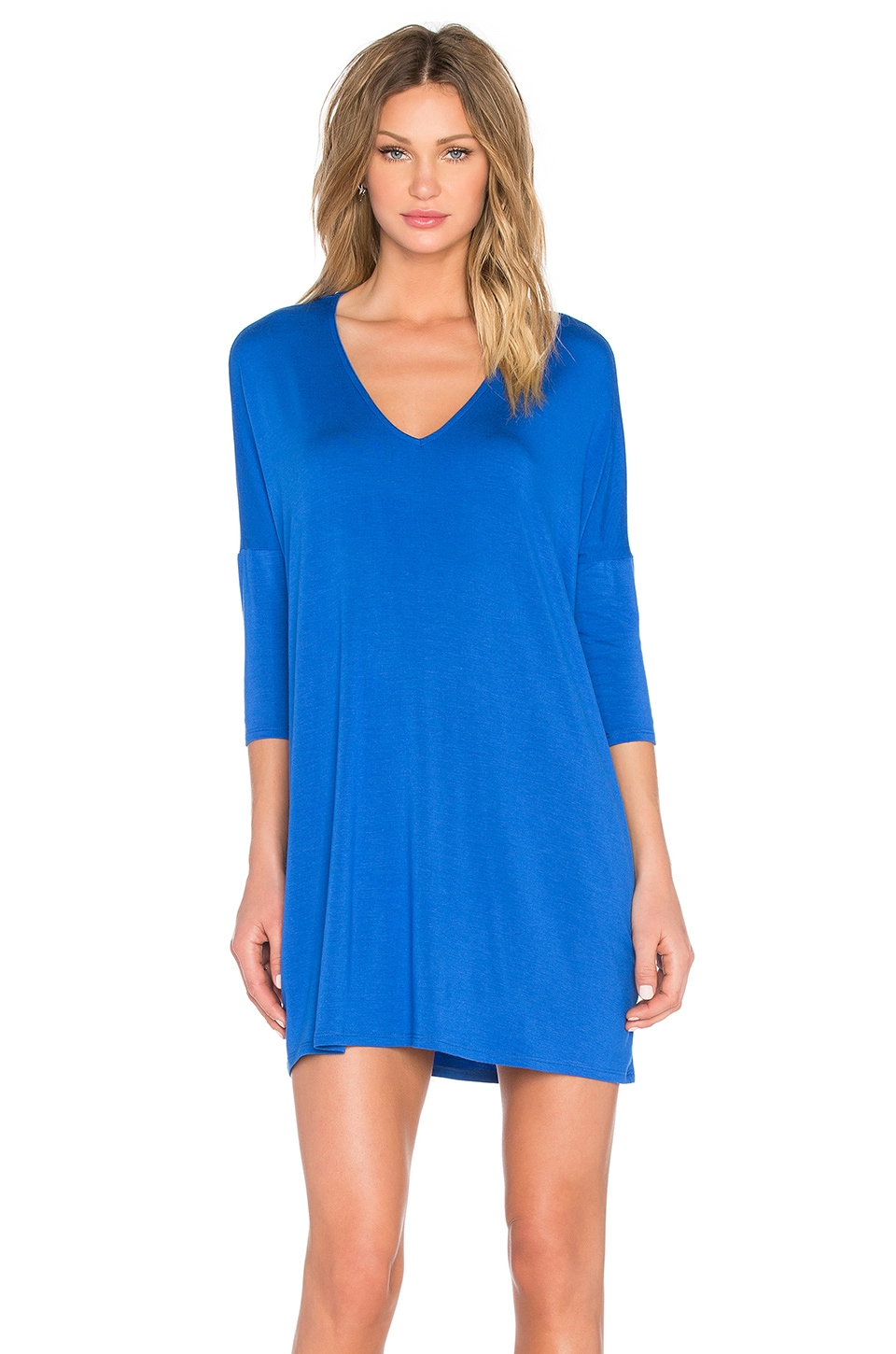 Michael Stars Mara Dress in Cobalt