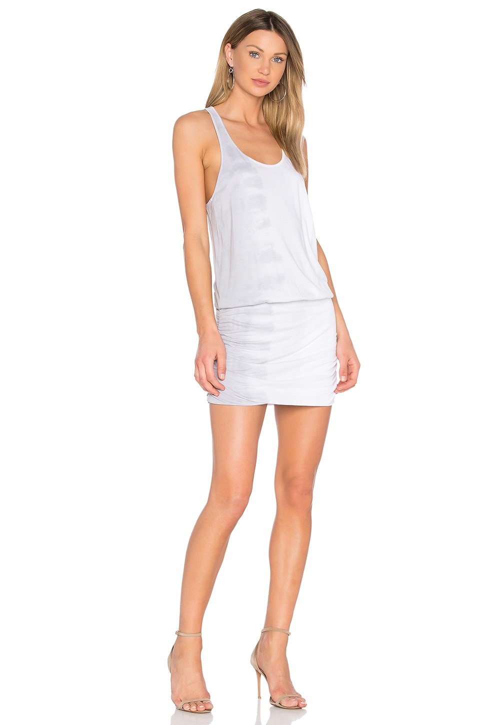 Shirred Mini Dress by Michael Stars
