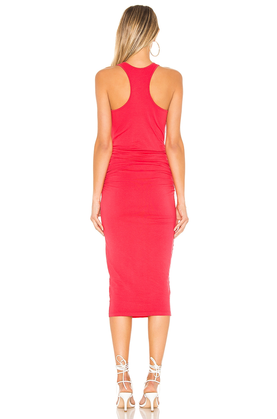 Racer Back Midi Dress, view 3, click to view large image.