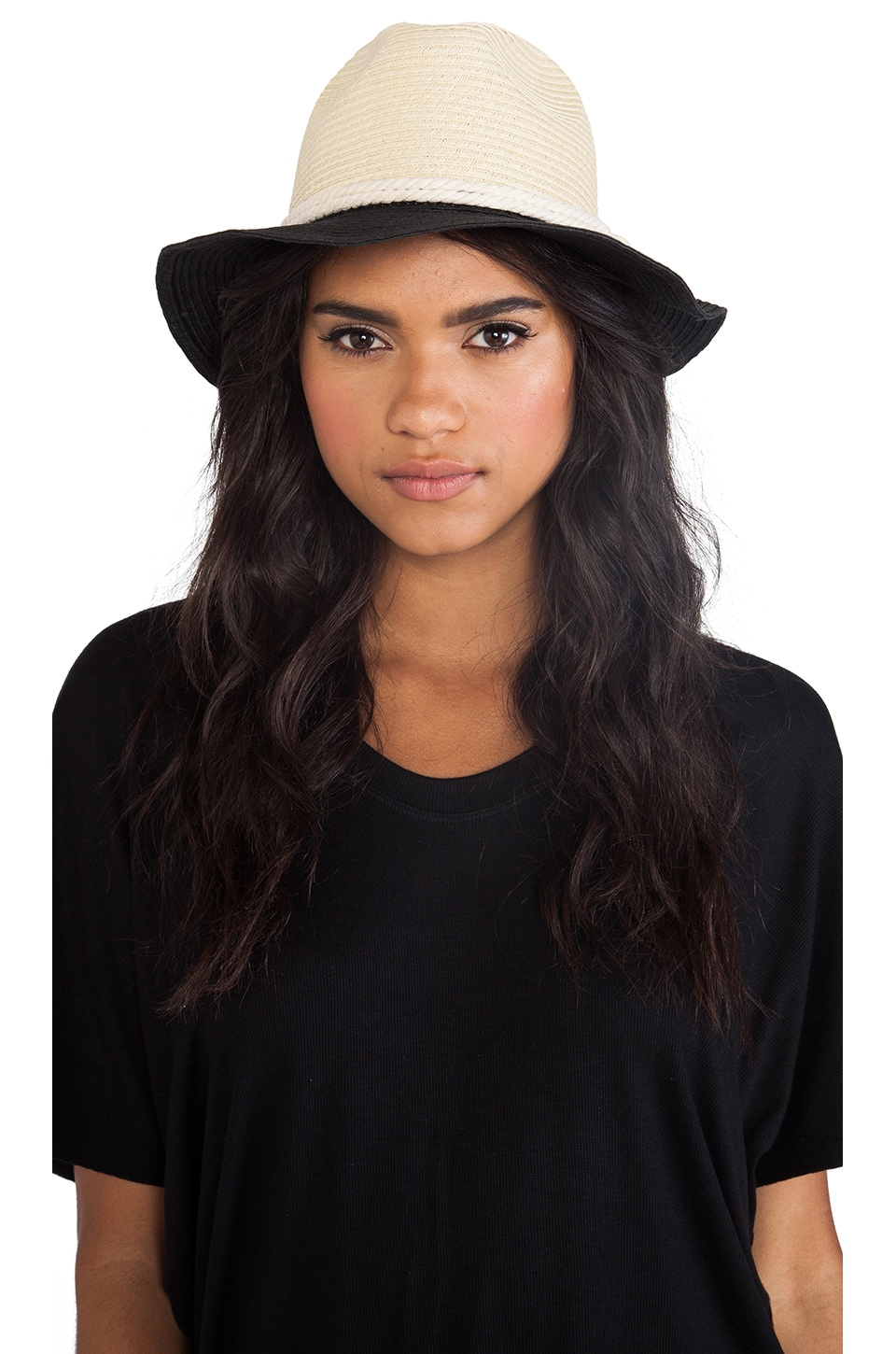 Michael Stars Knotted With Love Fedora in Black