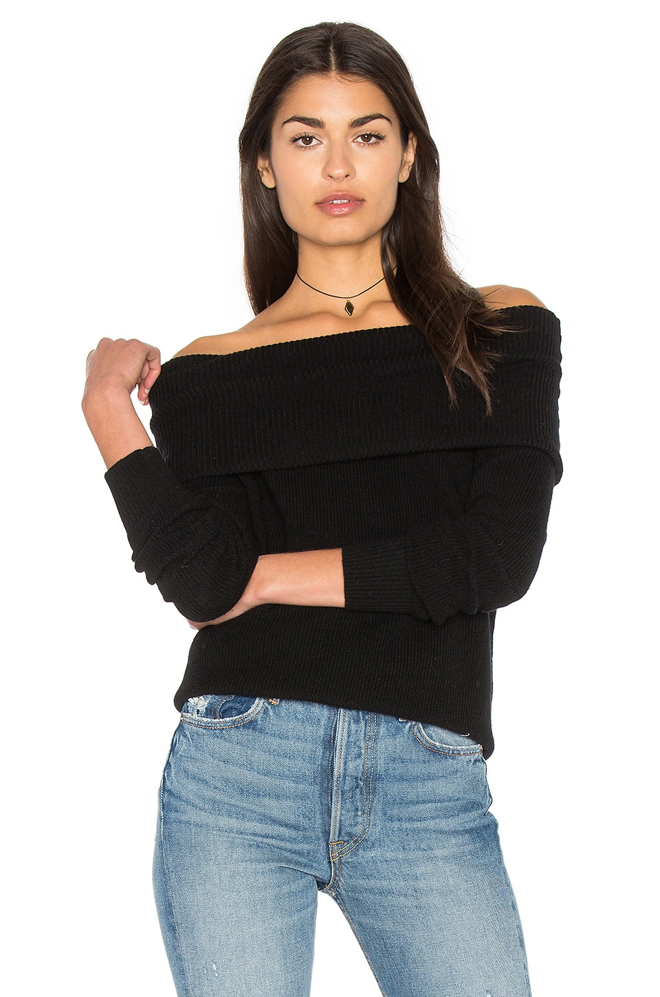 Off The Shoulder Tunic by Michael Stars