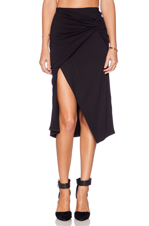 Michael Stars Sarafina Maxi Skirt in Black