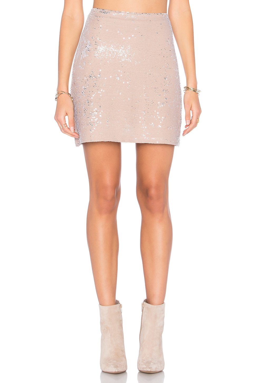 Sequin Mini Skirt by Michael Stars