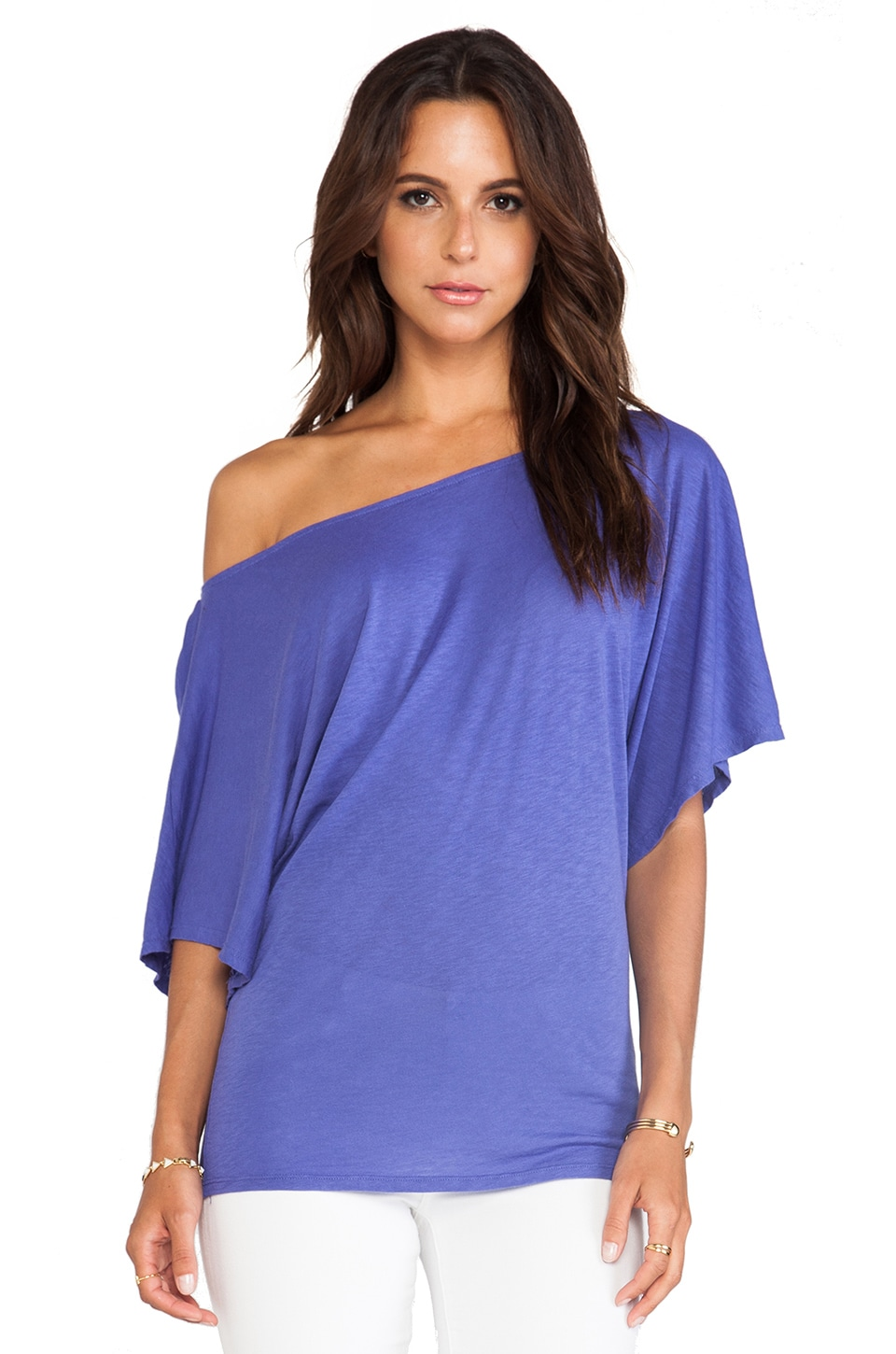 Michael Stars Off the Shoulder Dolman in Imperial