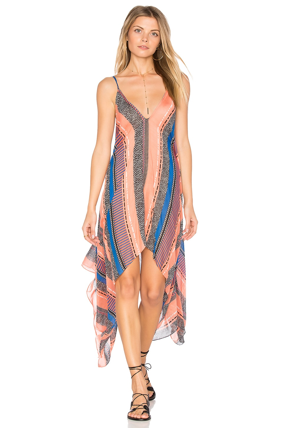 Michael Stars Easy Breeze Cover Up in Sorbet