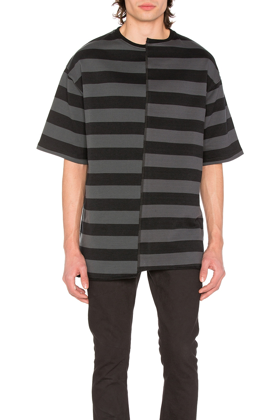 Layered Stripe Tee by Midnight Studios