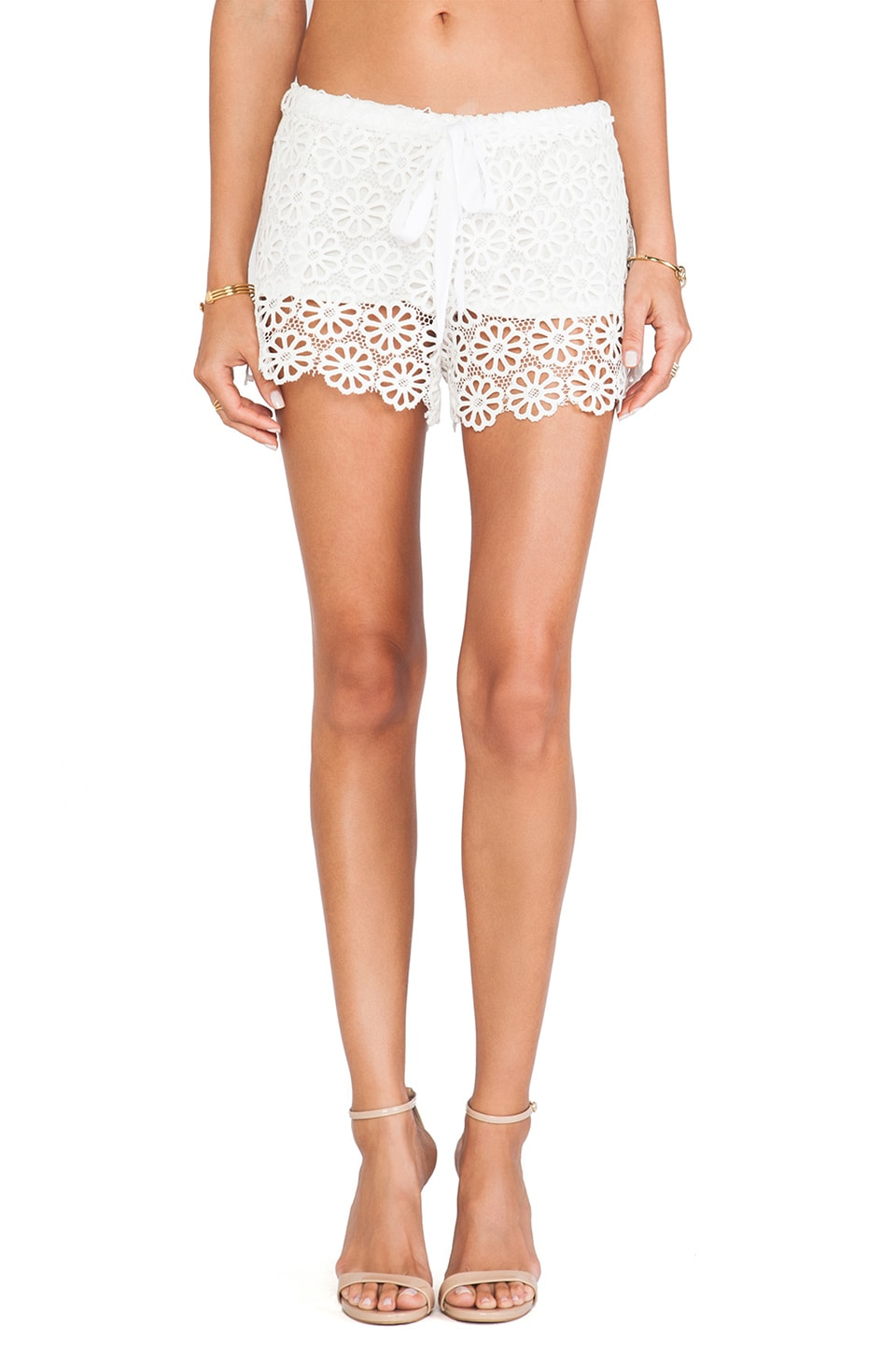 Miguelina Gwen Shorts in White