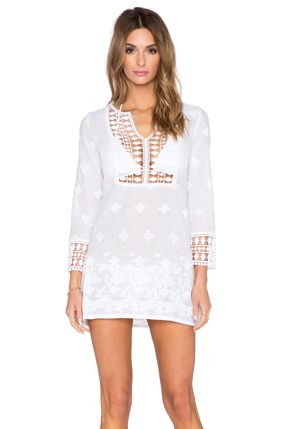 992cd8f94d Miguelina Sadie Cover Up in Pure White | REVOLVE