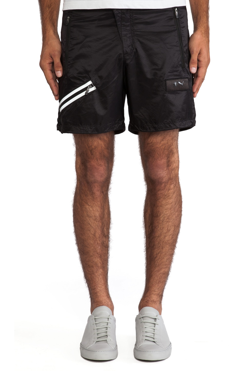 Puma by Mihara Light Weight Short Pants in Black