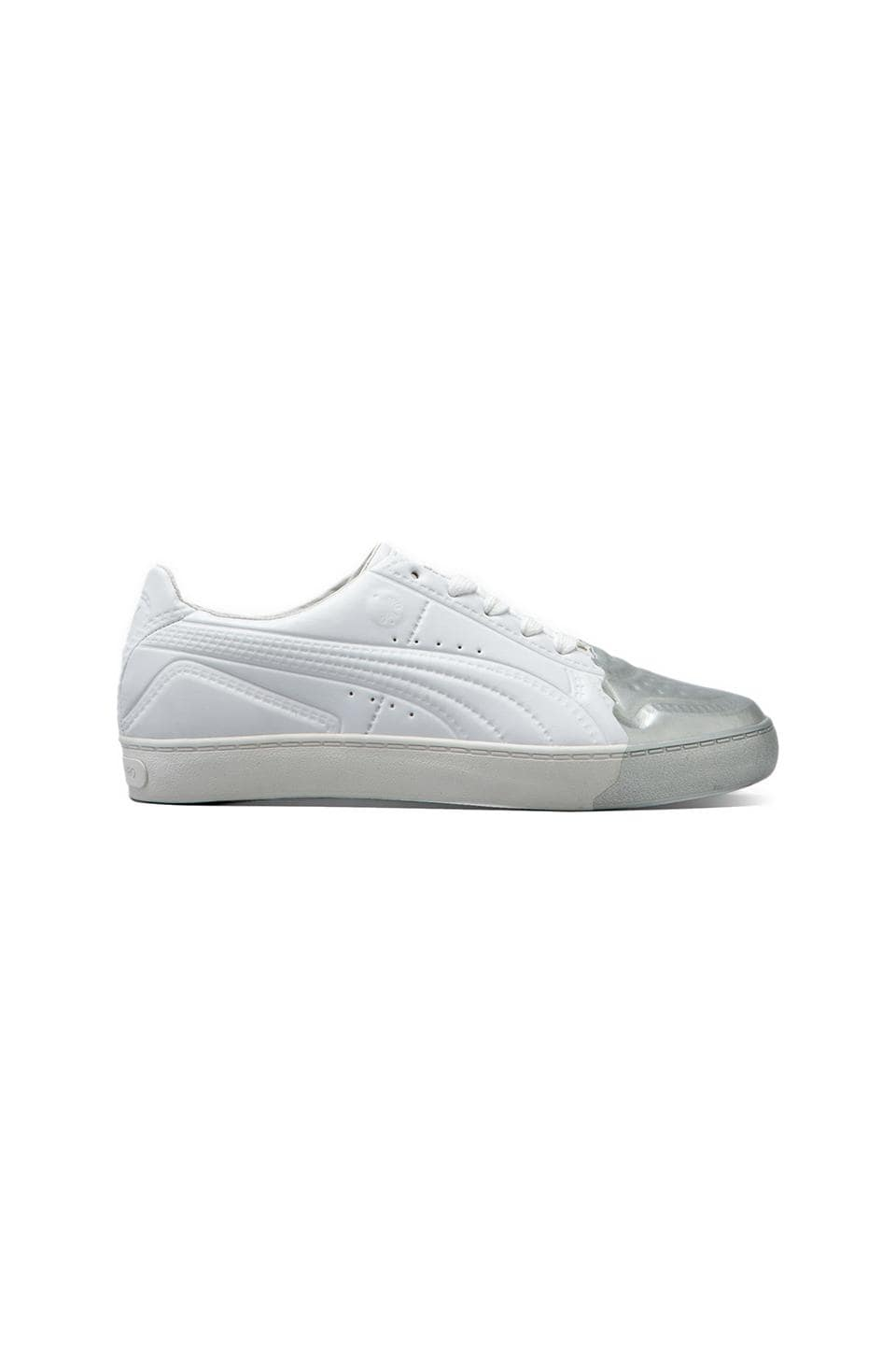 Puma by Mihara MY-70 in White/Puma Silver