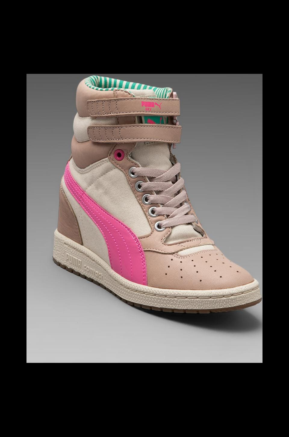 Puma by Mihara My-66 LC Sneaker in Peach Blush/Mint Leaf