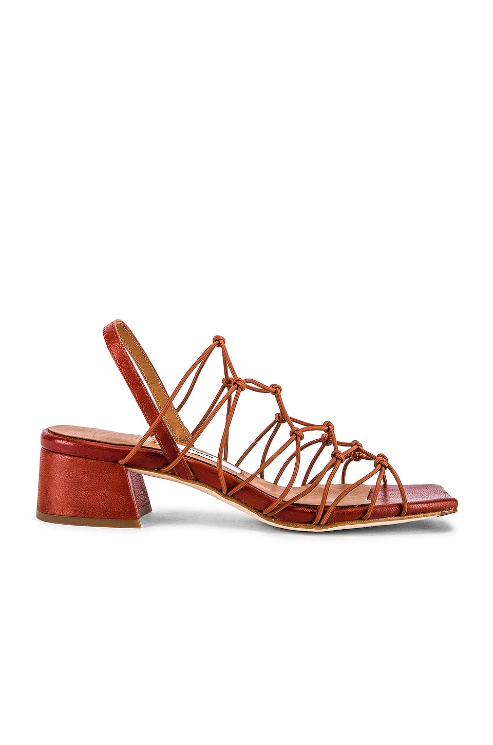 Miista Frida Sandal in Brick
