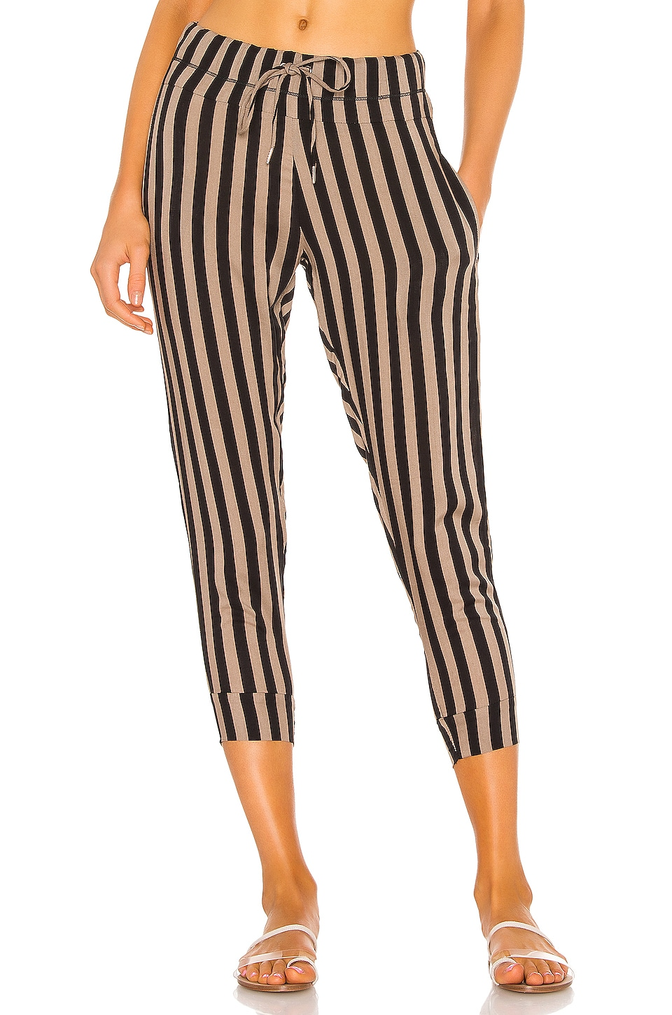 MIKOH Saku Pant in Village Stripe